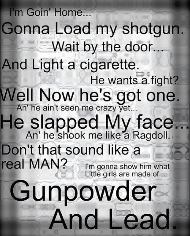 Miranda Lambert. Gunpowder & Lead.
