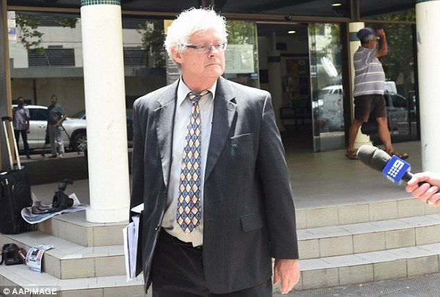 Crown prosecutor Michael Allnut leaves Fairfield Local Court in Sydney on Wednesday...