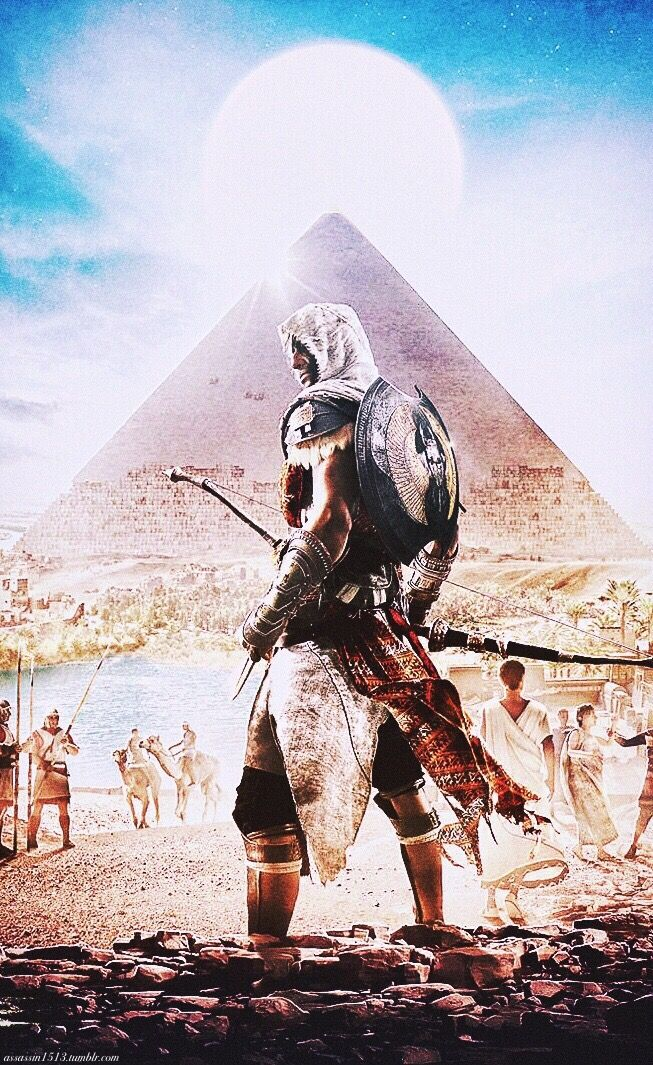 Bayek... pre-ordering Orgins tomorrow!!
