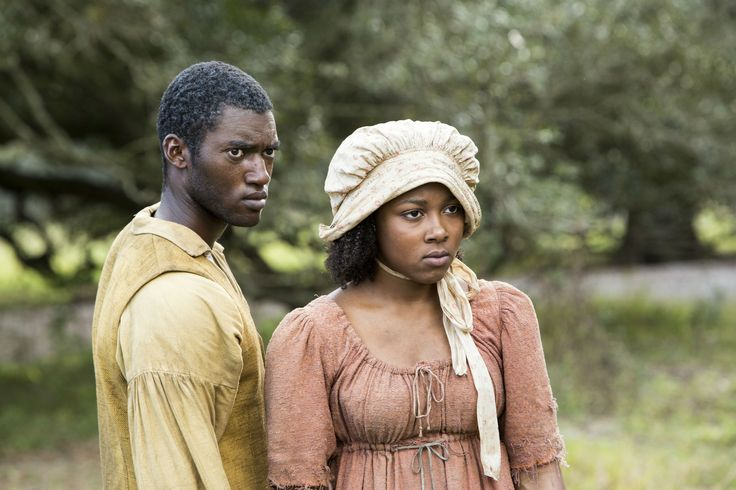 "Roots (2016) Kunta & Emyi Lee Crutchfield as ""Young Kizzy"""