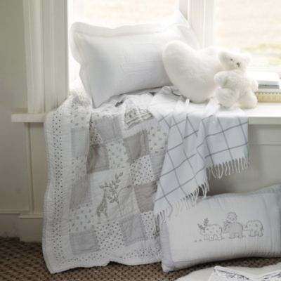 Noah's Ark Cot Bed Quilt  from The White Company