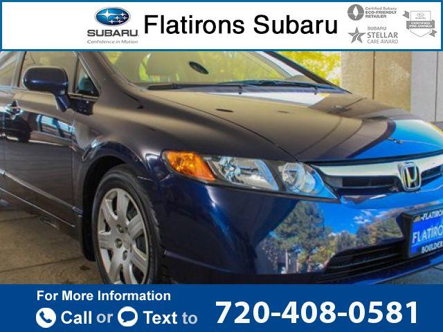 2008 *Honda*  *Civic* *LX*  76k miles $8,507 76436 miles 720-408-0581 Transmission: Automatic  #Honda #Civic #used #cars #FlatironsSubaru #Boulder #CO #tapcars