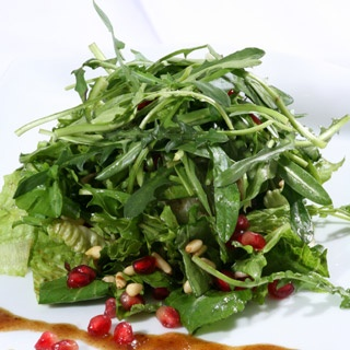 Stamnagkathi Greens Salad, Crete, Greece