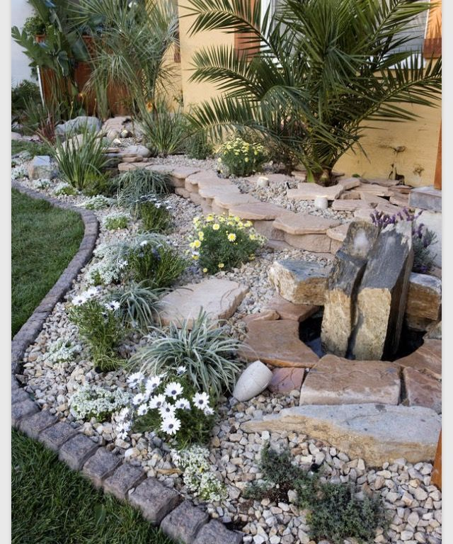 17 best images about rock garden ideas on pinterest for Rock garden bed ideas
