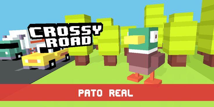 Acabei de desbloquear o(a) Pato Real! #crossyroad