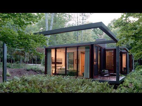 Steel-Framed Guesthouse