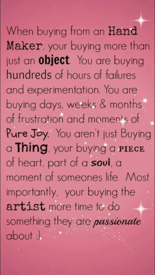 quotes about handmade gifts - Google Search