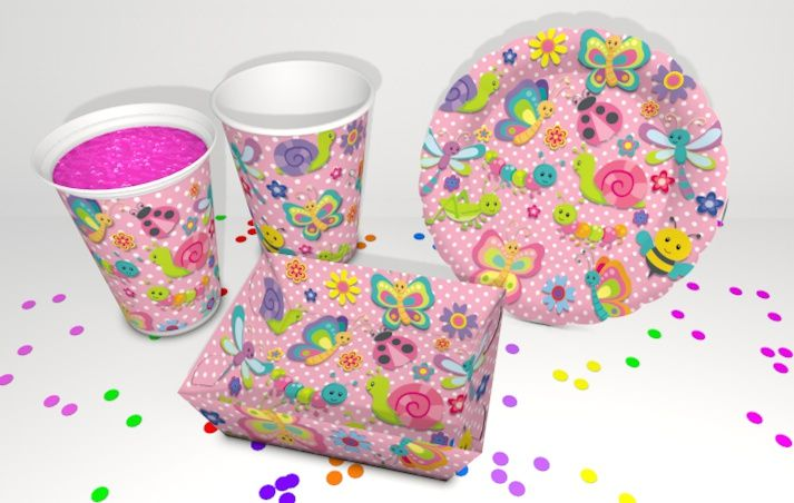 Decoration para fiesta temática bichitos, un diseño simplemente.. bonito