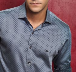 CAMISA SOCIAL MASCULINA SLIM FIT - Shopjmix - Moda masculina online - Camisas sociais slim fit