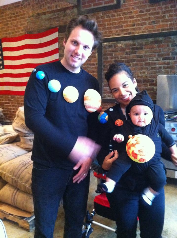 DIY Family Halloween Costume: Solar System | Weltraumparty ...