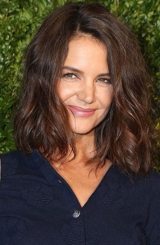 Katie Holmes has a new lob haircut! Click through to see more celebrity hair changes