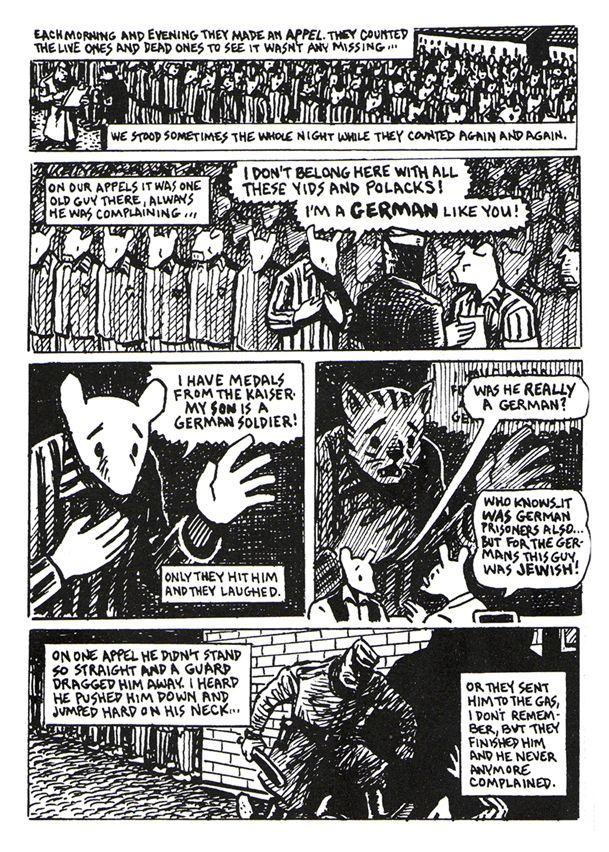 Art Spiegelman's MAUS: A Different Type of Holocaust Literature