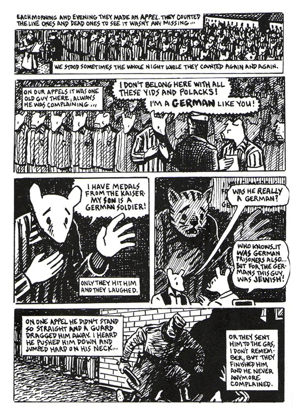 the life and survival story of vladek spiegelman in maus i and maus ii by art spiegelman Gelman's holocaust story and art spiegelman's experi- maus ii, a survivor's tale is interested in vladek's holocaust story and how it shaped vladek.