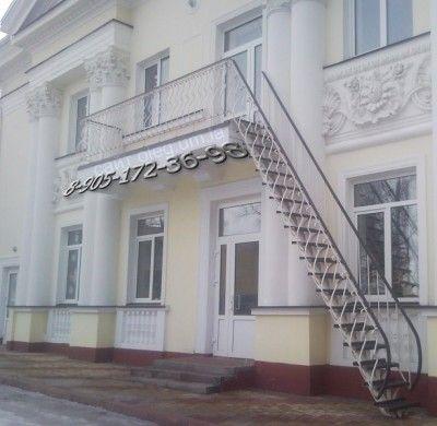 Пожарные лестницы, эвакуационные, наружные лестницы,