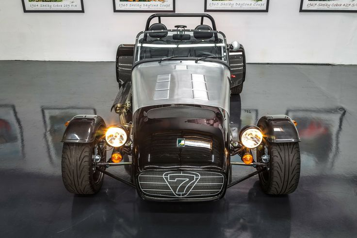 We at Hillbank have a mild obsession with the iconic lights on this Caterham Seven 480.