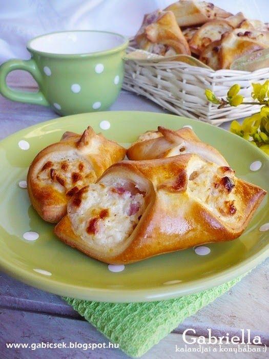 Sonkás-sajtos-tejfölös papucs