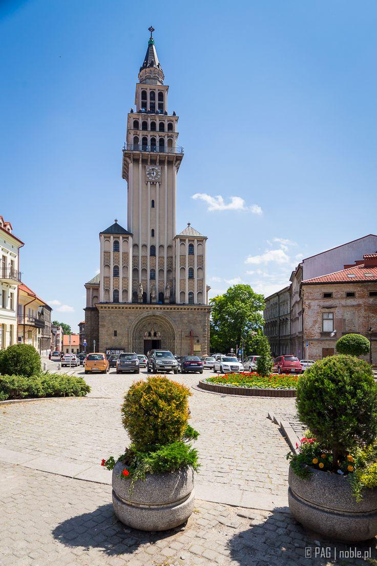 Katedra św. Mikołaja w Bielsku-Białej | The Saint Nicholas' Cathedral, the main Roman Catholic Church of the Bielsko-Biala city, Silesia, Poland