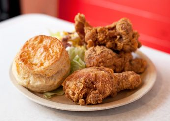 "Pies-N-Thighs; Brooklyn, NY  ""I'm on the record as a fried-chicken freak,"" says editor in chief Dana Cowin, who wasn't disappointed by this cult Williamsburg spot known for fried chicken seasoned with paprika, black pepper and cayenne. ""I adored its homey mood and comfort food."""
