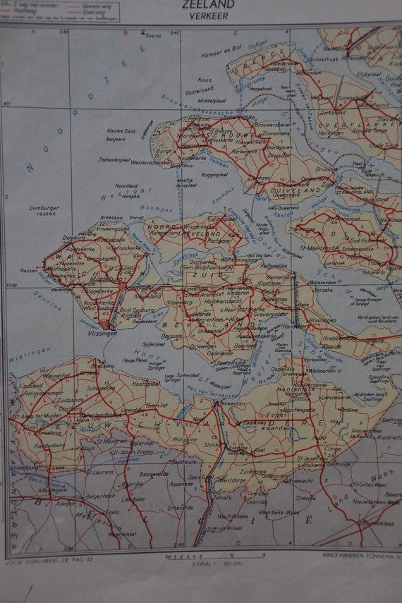 Oude landkaarten KING atlas van DutchRecycling op