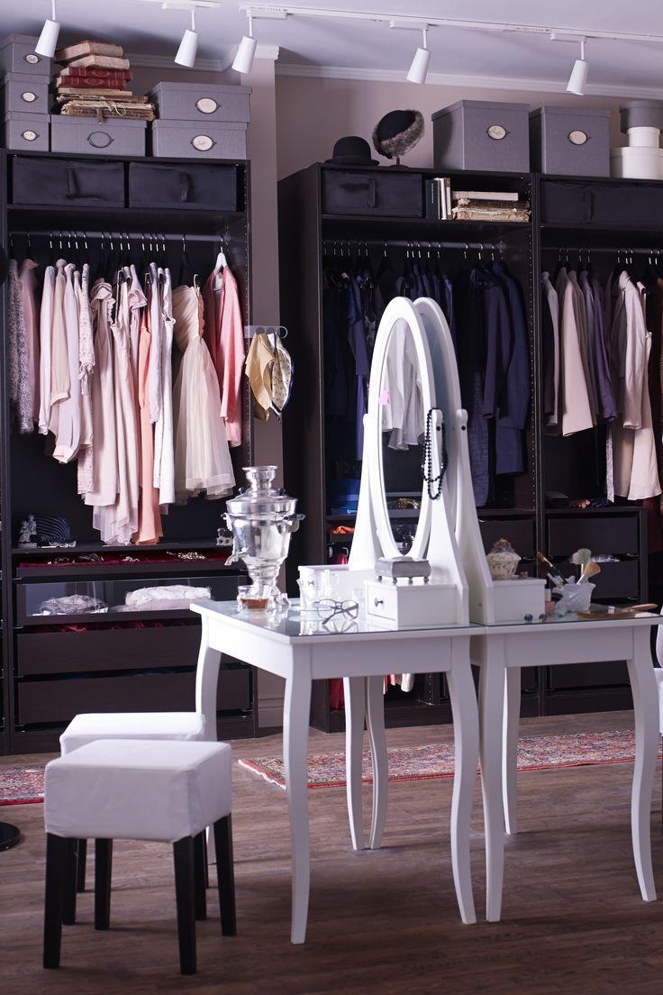Attrayant Dressing Avec Coiffeuse #13: Coiffeuse Hemnes Avec Miroir Du0027IKEA