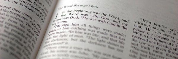 Gospel of John - Chapter 1 - Jesus, always God, became flesh