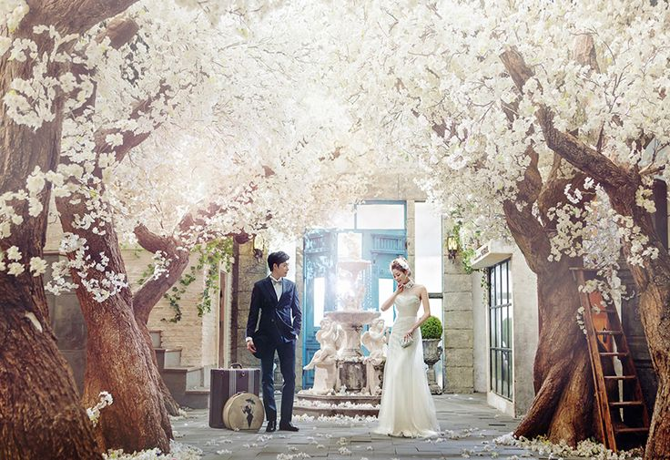 Korean Studio Pre-Wedding Photography: 2016 Romantic Vintage Collection  by Bong Studio on OneThreeOneFour 27