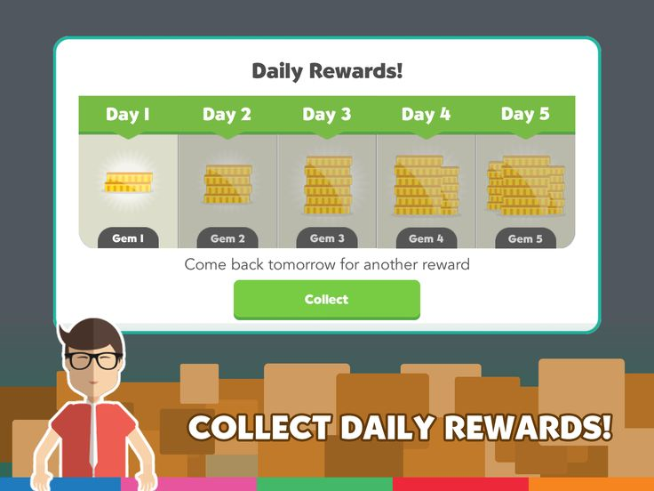 Collect Daily Rewards...