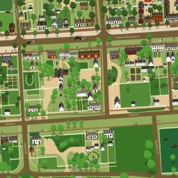 Best Colonial Williamsburg VA Images On Pinterest Family - Colonial williamsburg map