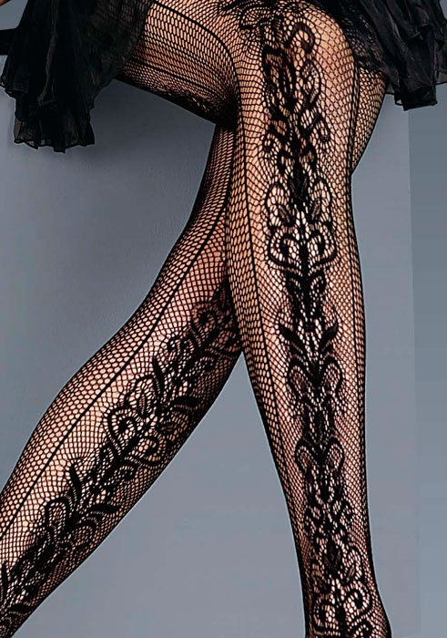 seams that run down the side of the legs manage to make it look natural.uktights.com