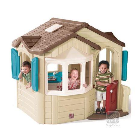 Jucarii de exterior :: Casute si spatii de joaca :: Casute pentru copii :: Casuta Naturally Playfull Welcome Home STEP2