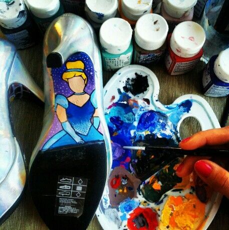 Cinderella shoe pt 2