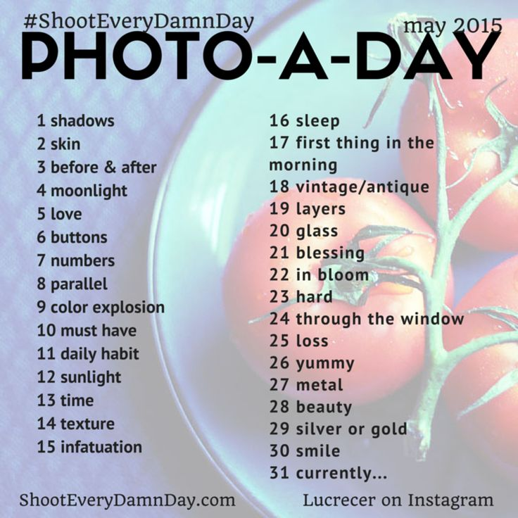 May 2015 Photo Challenge. Curated by the community!