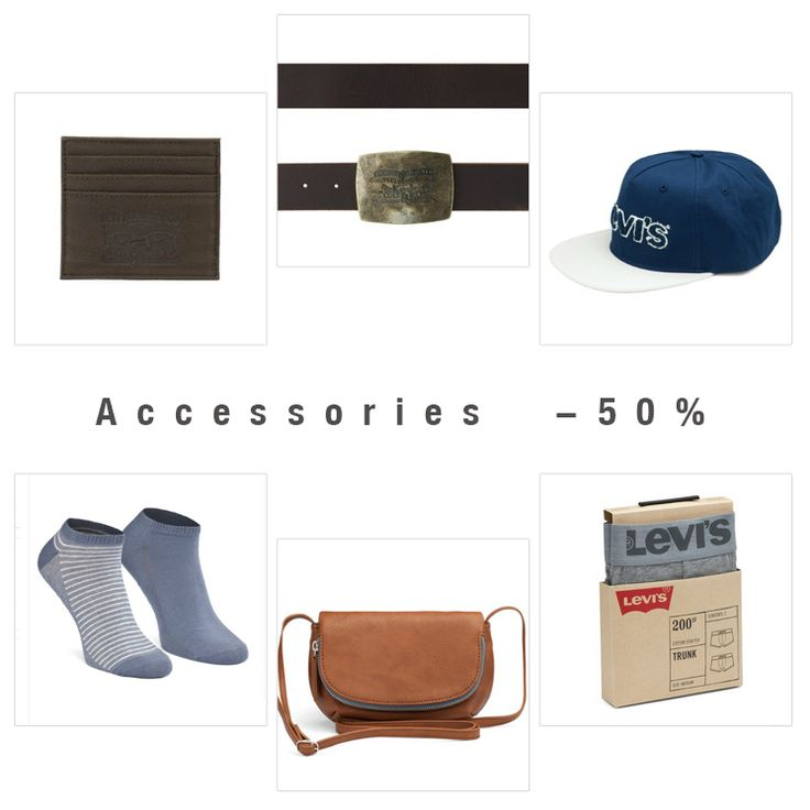#accessories #sale #upto50 #levis #liveinlevis #levisaccessories #socks #underwear #bodywear #bags #belts #wallets #hat
