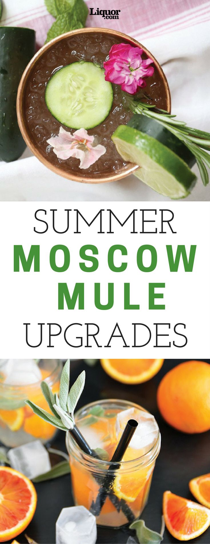 The Moscow Mule has its simple formula to thank for the drink's survival. With its future assured, now's the time to start messing around.  Dress your Mule in summer's finest, starting with garden-fresh herbs, crisp chilled melon and even bright pink prickly pear.