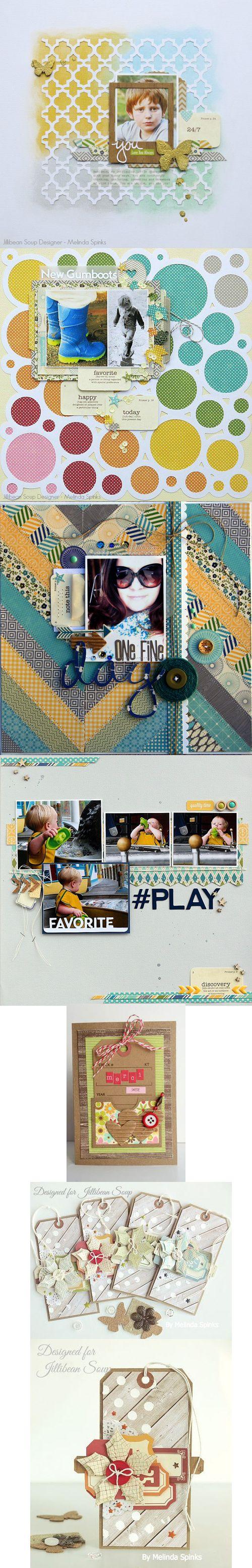 Scrapbook ideas cheap - Jill Card Via Peachy Cheap Scrapbook Layoutsscrapbookinginternetjpgideas