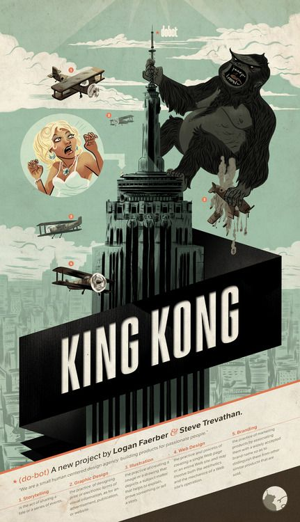 396 best graphic design images on pinterest graphics graph design and banknote - King kong design ...