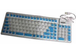 Mediatech Mini Flexible Keyboard K-005 Blue