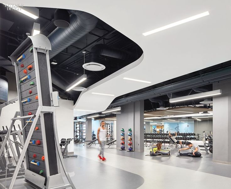 John Friedman Alice Kimm Architects Converts UCLA Garage into Airy Fitness Center