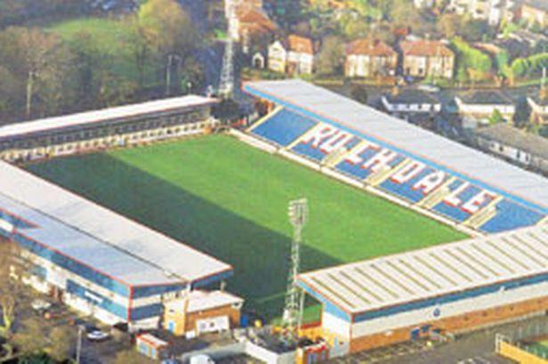 Rochdale A.F.C. - Spotland Stadium - 10.249 tilskurer