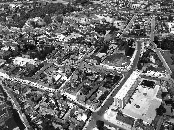 Odense centrum, 1955