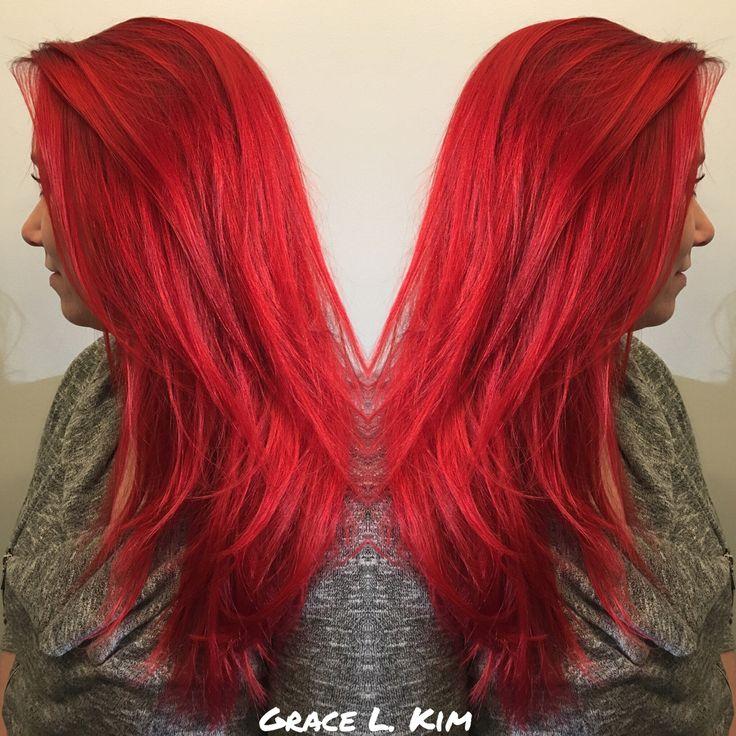 Red hair Instagram: @beautybygracek