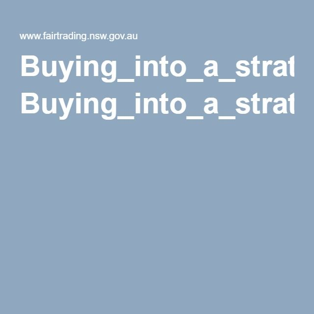 Buying_into_a_strata_scheme