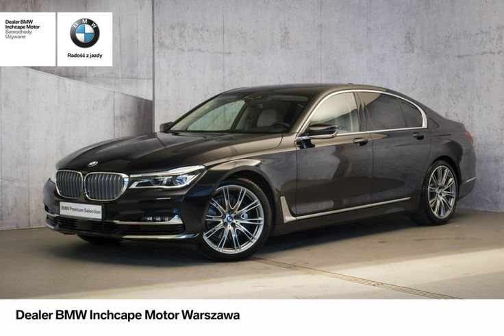 BMW 740 - BMW 740d xDrive | Individual Collection Azurite Black! | Inchcape!