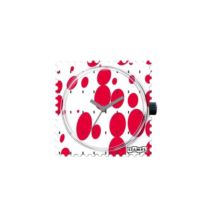 Relógio S.T.A.M.P.S. Red Bubbles R$89.00