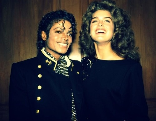 Michael Jackson and Brooke Shield