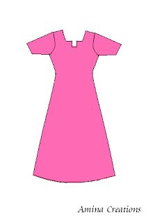 Free garment sewing drafts (patterns) AMINA CREATIONS blog, a source for several versions of South Asian-style women's clothing, including kameezes & kurti with a variety of necklines and sleeves, anarkali suits, a kaftan, an umbrella cut skirt, salwars, parallel pants, and harem pants. Also good instructions on taking body measurements to make well-fit garments. Keywords: India, Pakistan, Bangladesh, modest, DIY, tutorial