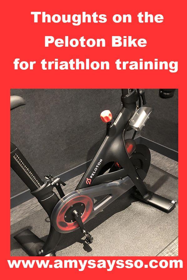 Peloton Bike For Triathlon Training Amy Says So Triathlon Training Peloton Bike Triathlon Training Plan