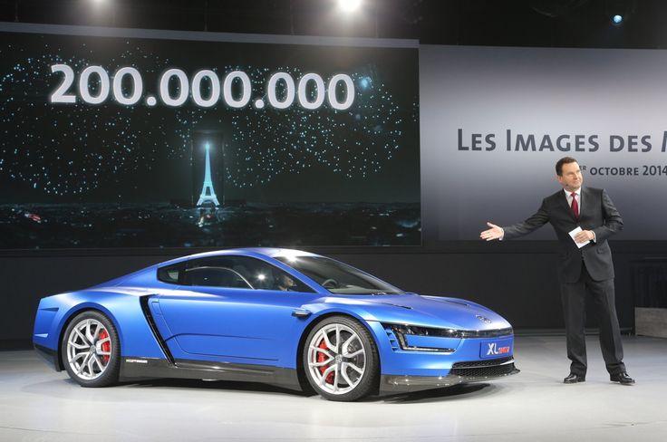 Volkswagen XL Sport Concept Live Photos Wallpaper