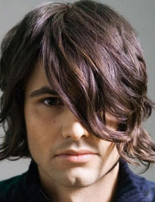 Eye Covering Bangs Long Hairstyle For Men Boys Long Hairstyles Long Hair Styles Men Long Hair Styles