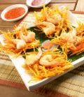 Pan Fried Shrimp Recipe Video : <p>Grapeseed oil is a healthy alternative in this easy pan fried shrimp recipe that can be made in under 30 minutes. Try this flavorful high protein shrimp recipe with a salad for a healthy lunch.</p>
